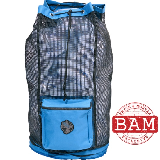 Collapsing Deluxe Mesh Backpack