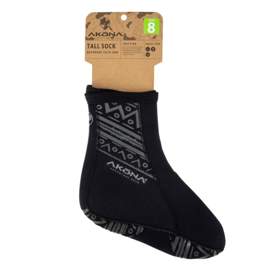 TALL TRACTION SOCK PACKAGING