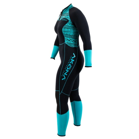 3mm Front Zip Qs Full Suit - Women
